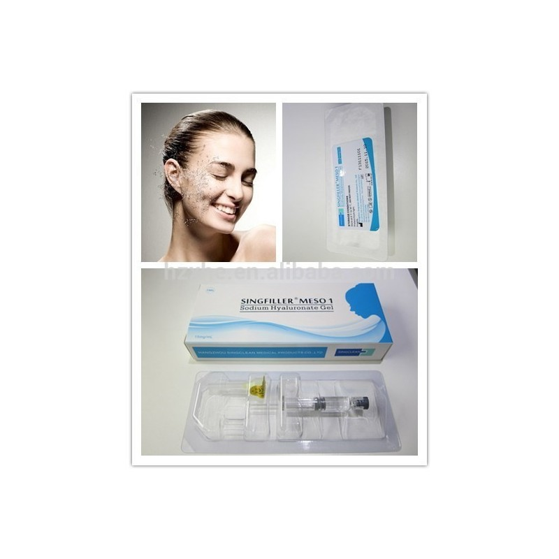 Singfiller meso 2 ml - alternative to teosyal meso, Restylane Vital, Juvederm Hydrate