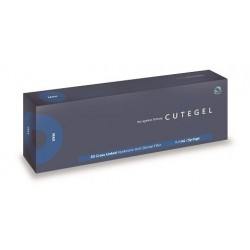 CUTEGEL MAX - Garnituri dermice pentru riduri, frunte, obraz și bărbie